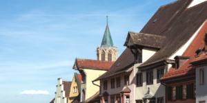 Historische Hauptstraße in Rottweil